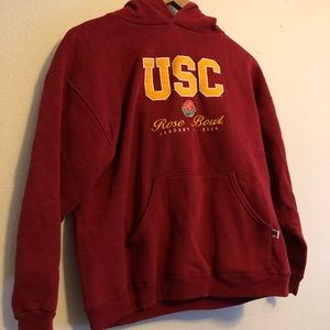USC Trojans rose bowl 2004 youth large Russell